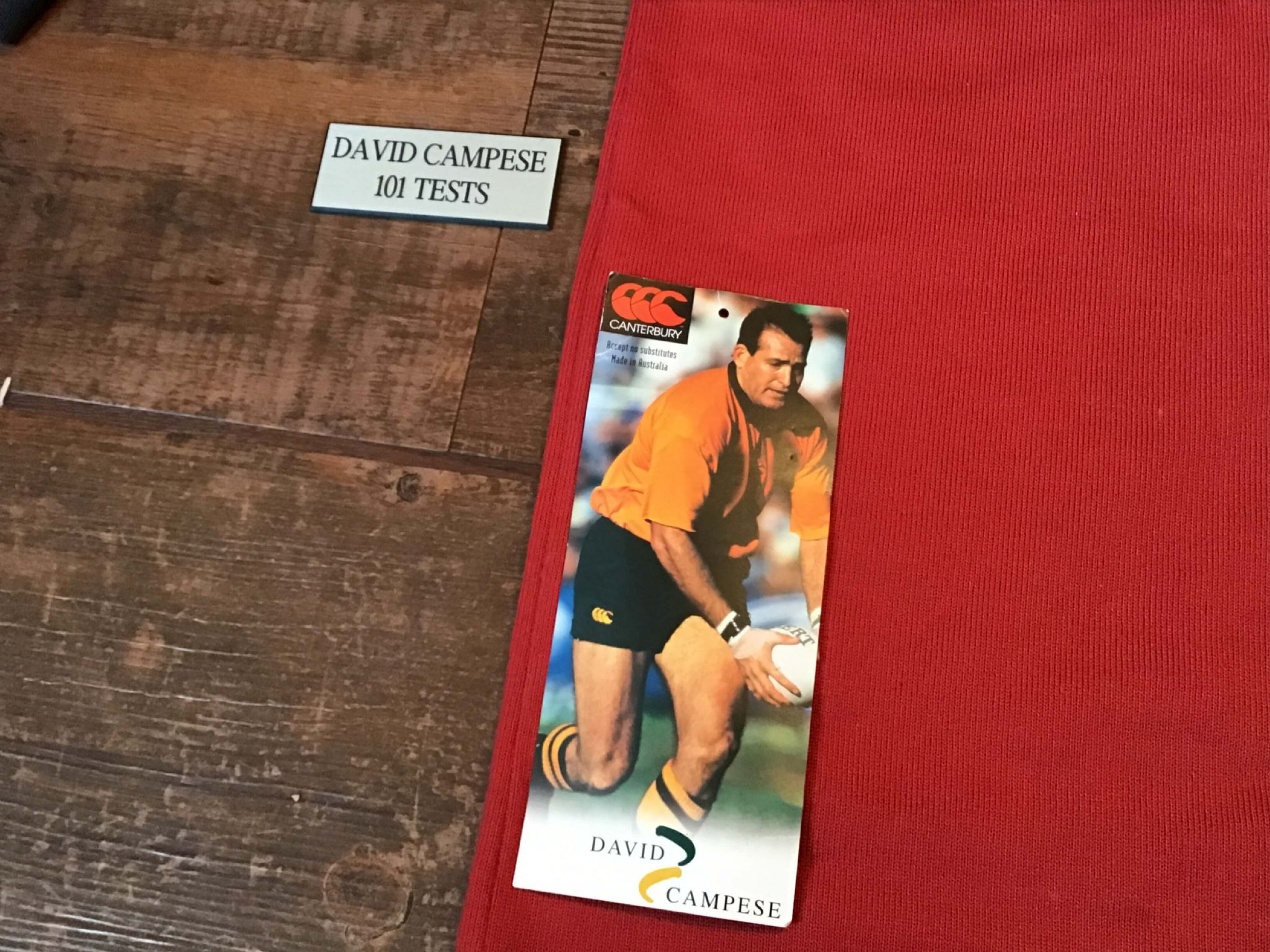 f7333857d46 Classic Rugby Shirts | 1996 Australia Campese Old Vintage Retro Jersey